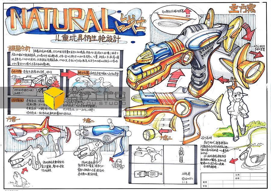 工业设计考研手绘临摹范稿【二】