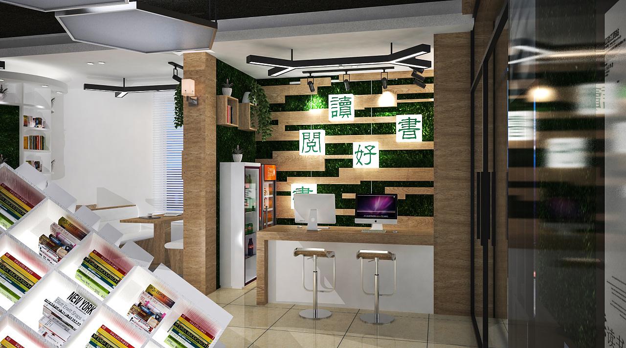 阅览室设计/警察书屋|空间|室内设计|coolblack图片