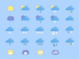 躲猫猫天气图标
