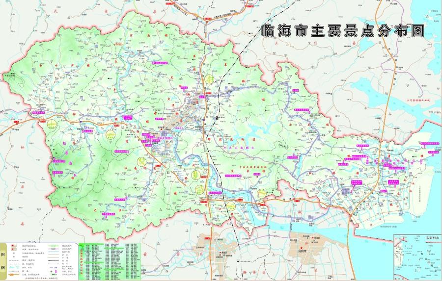 浙江省地图全图大图_浙江详细地图