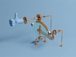 C4D动力学案例教程:做各种好玩的机械装置
