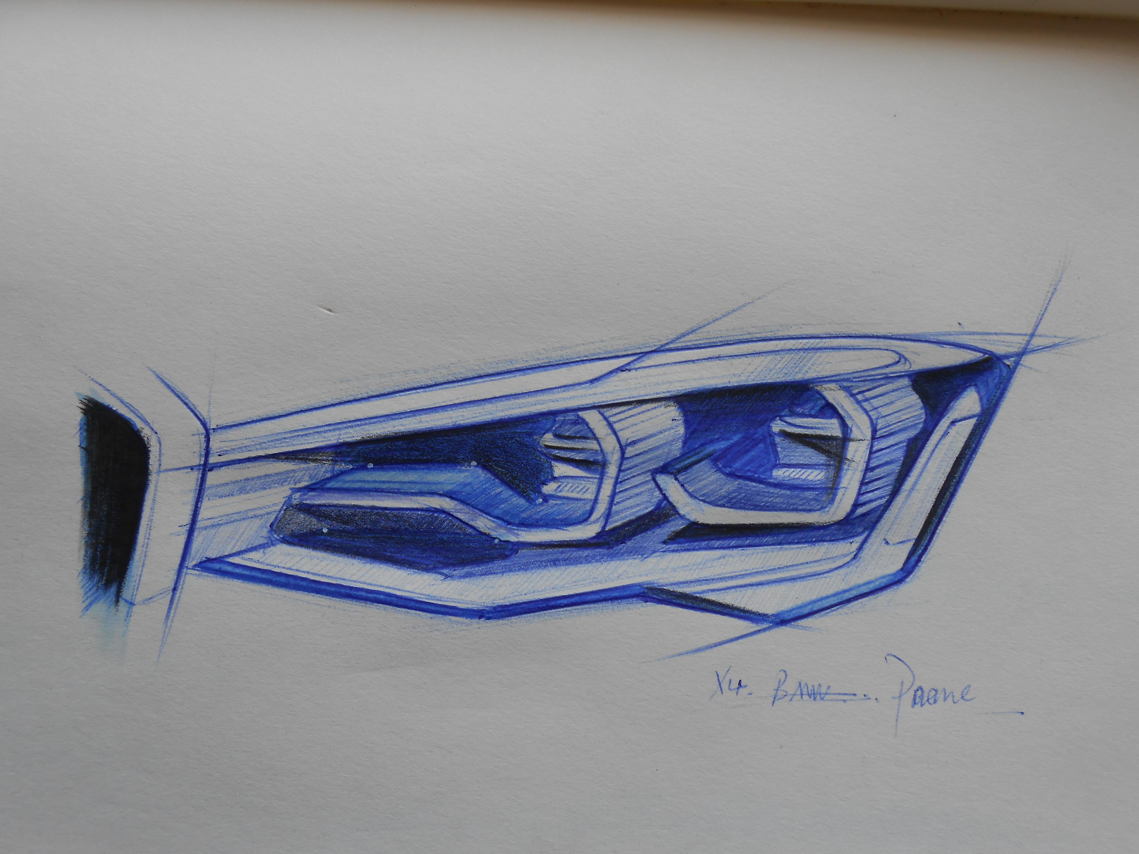 汽车设计手绘|工业/产品|交通工具|pengxu327306579