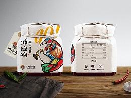 冲锋鸡辣椒酱包装设计