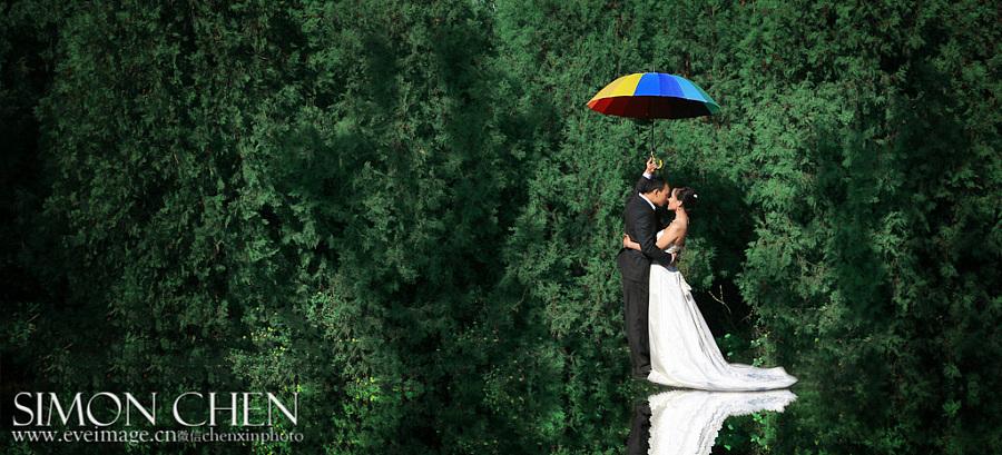 查看《婚纱摄影-伊视觉作品摄影师陈昕》原图,原图尺寸:1024x465