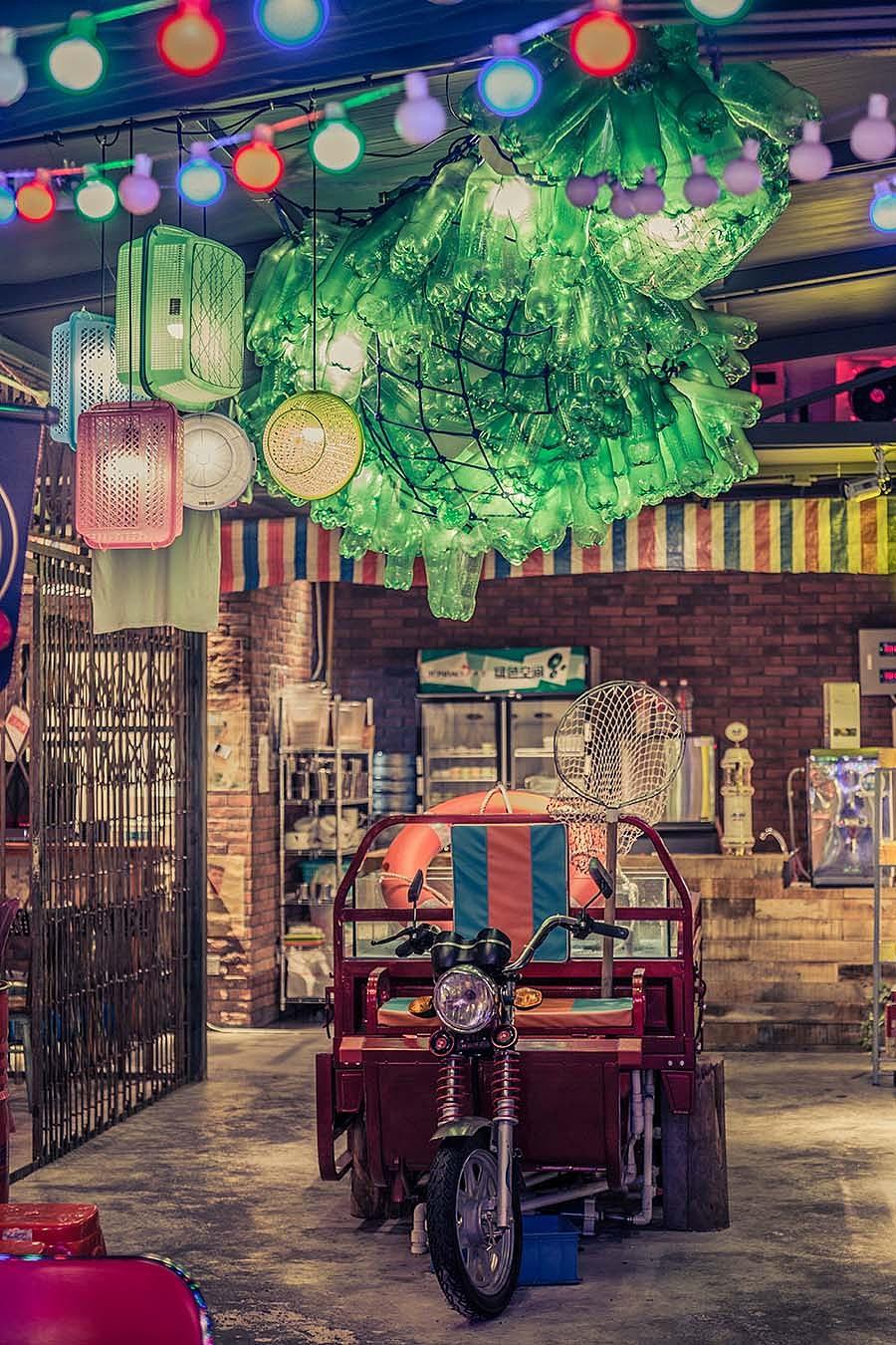 烧烤店 · 餐饮空间设计_天台上见 深圳南山店