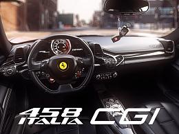 CGI Ferrari 458 ITALIA