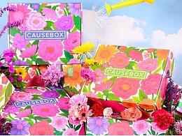美国时尚品牌CAUSEBOX x AG艺峰国际艺术家