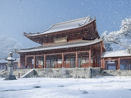 CHINESE TEMPLES 建筑表现