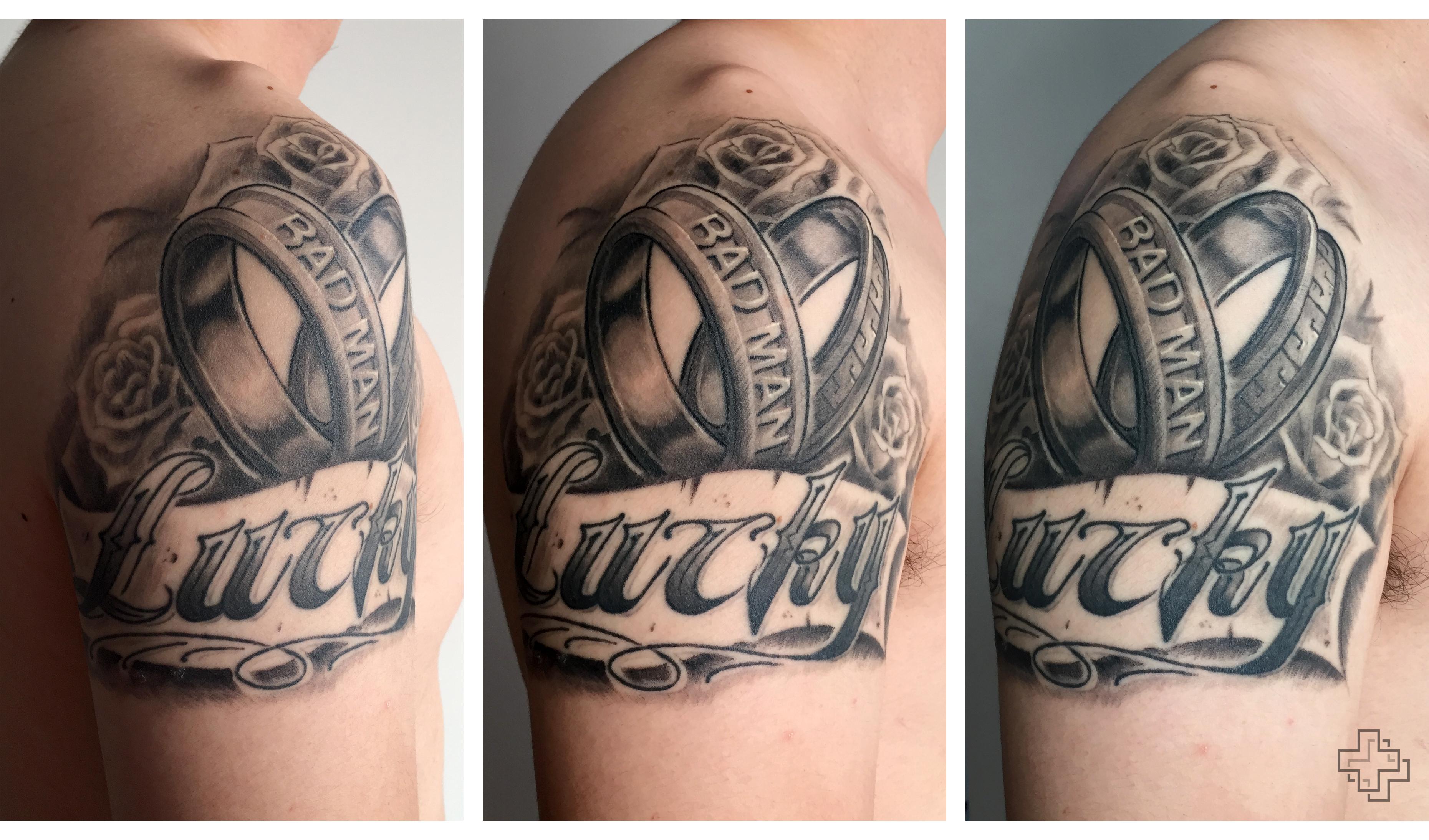 两个写实纹身|手工艺|其他手工|2nu7lg - 原创作品