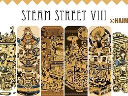 蒸汽朋克插画集8蒸汽街的秘密