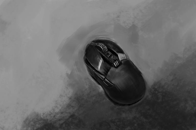 涂画-手绘鼠标