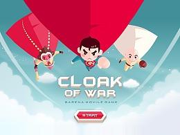 cloak of war游戏界面原画设计