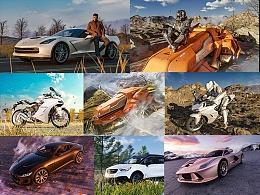 车类+科幻载具3D渲染订制2020-2小集Blender