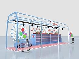 商场店铺货架简易 儿童游乐展位