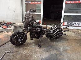 猴哥 铁艺雕塑重金属朋克风
