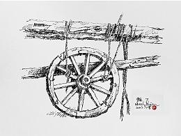线相系列—钢笔画·静物