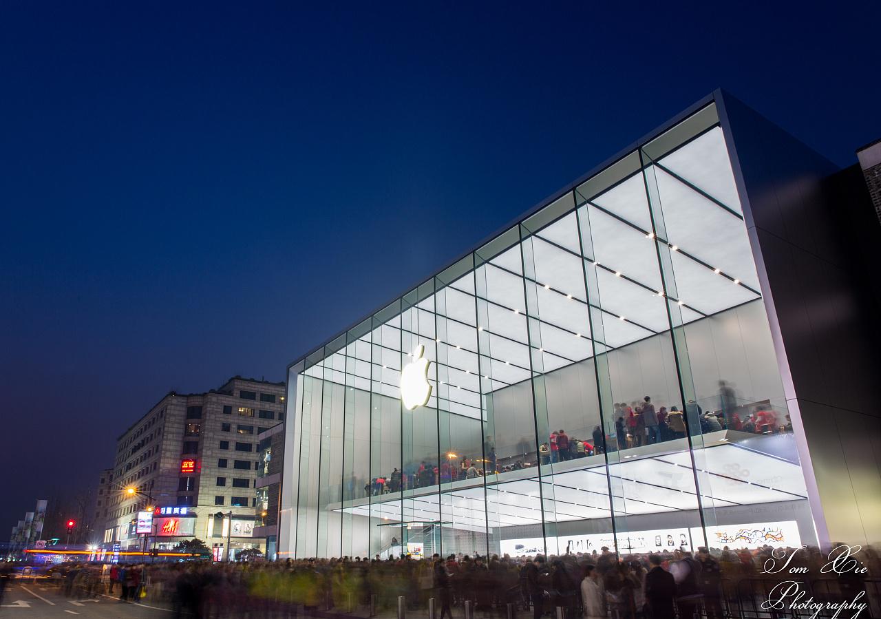 旗舰店设计_亚洲最大苹果旗舰店|摄影|环境/建筑|Tomxie - 原创作品 - 站酷 (ZCOOL)