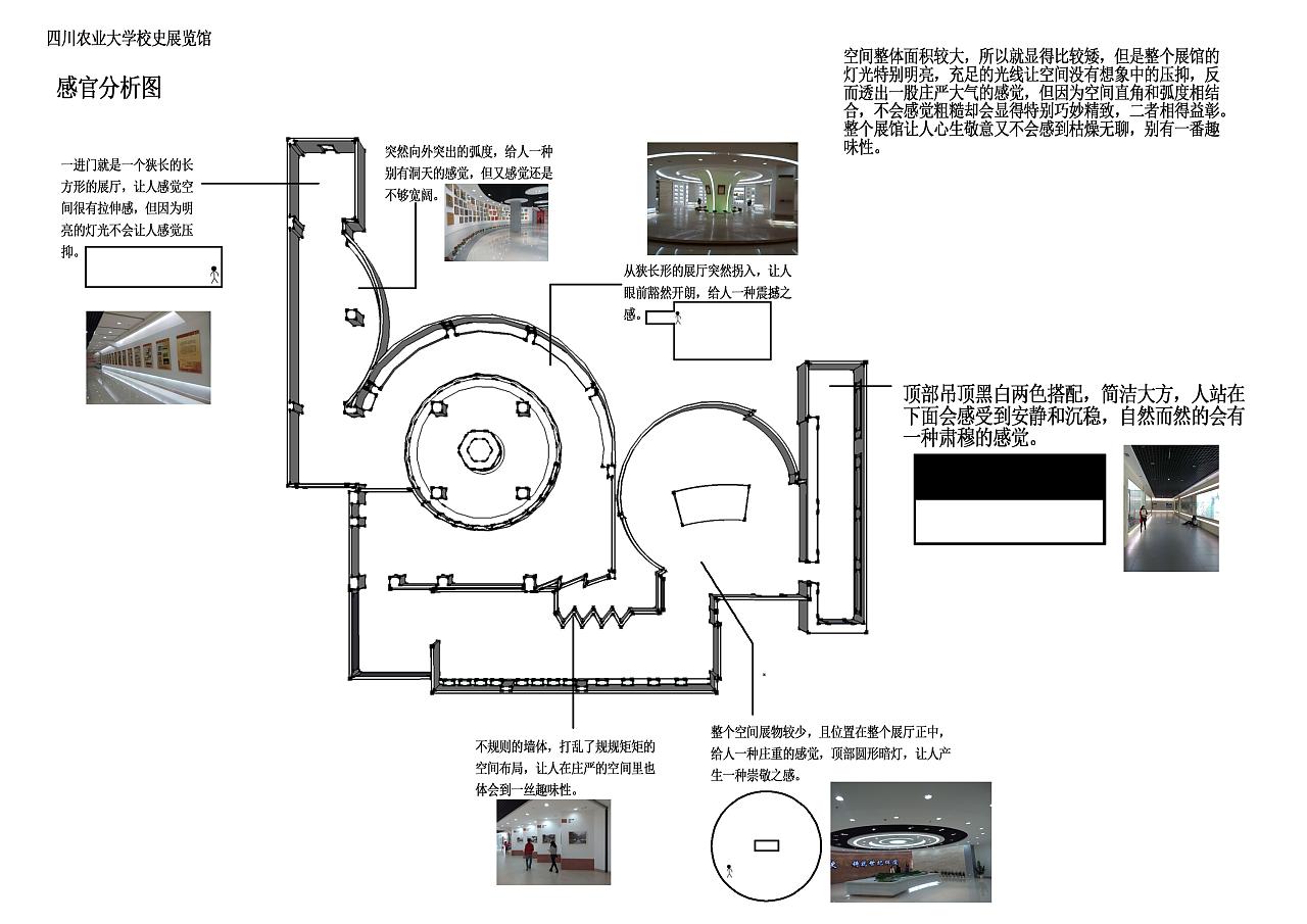 校史馆空间展示设计(课程作业)