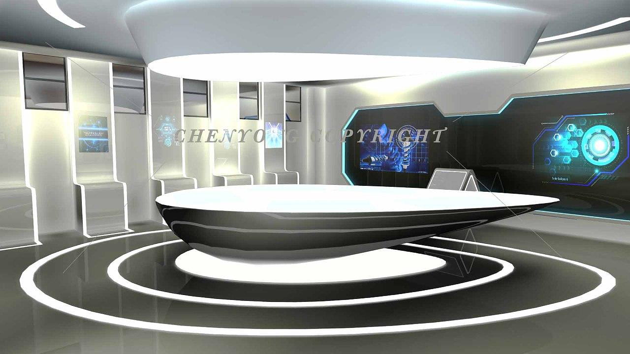 展厅平面设计图_科技展厅效果图|三维|建筑/空间|泳不言弃 - 原创作品 - 站酷 (ZCOOL)