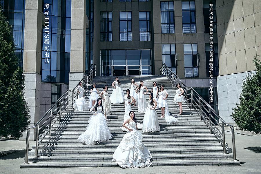 【毕业季系列】呼和浩特民族学院美术系 环境
