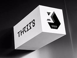 THREE'S 三人诚品文化传播品牌设计