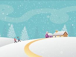 关于冬季节的壁纸