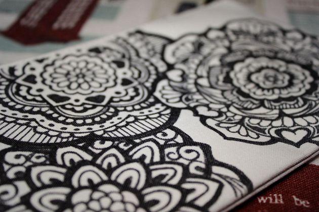 手绘包————生如夏花系列|其他手工|手工艺|月芽