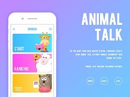 低龄儿童语言教学app概念设计