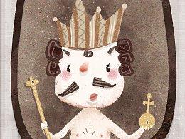 【儿童插画系列】国王的新衣