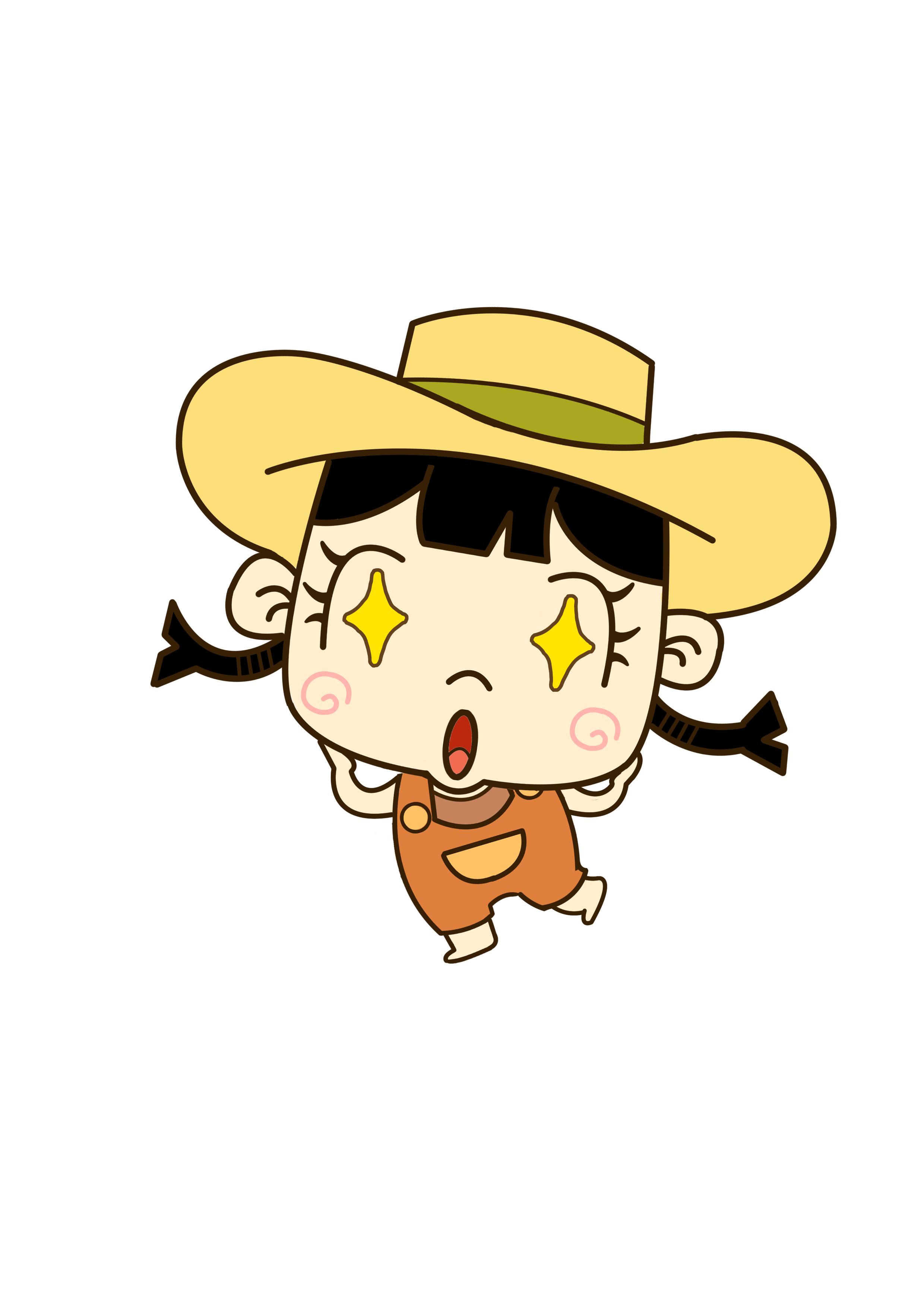 爱吃坚果的农场小女孩
