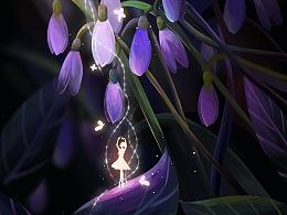 【绘画】与蝶共舞