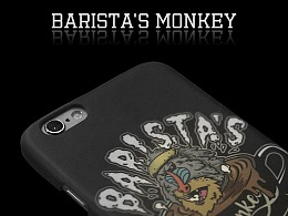 花脸猴子原创手机壳