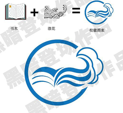 常熟市浒浦高级中学图案校徽|标志|高中|a图案登河子汤平面图片