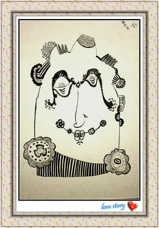小人物|绘画习作|插画|葵吖吖