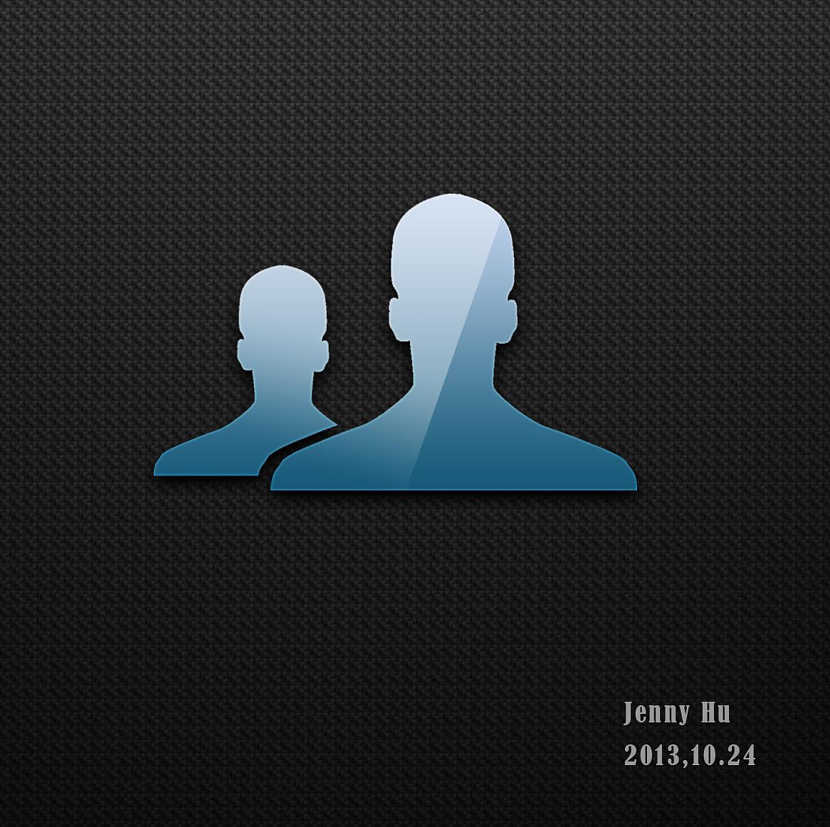 人物剪影 icon