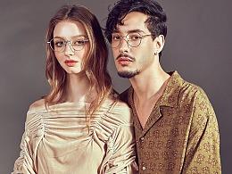 微距创意--佐川眼镜拍摄女模