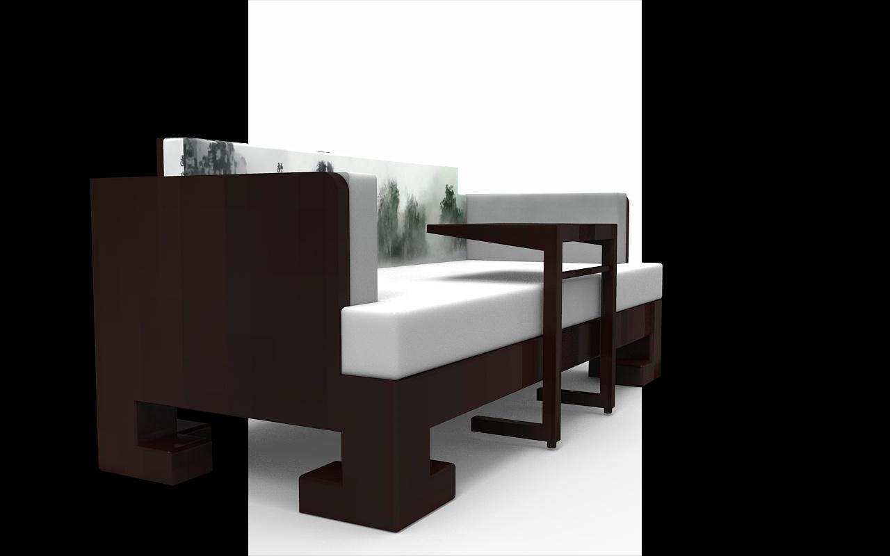 概念家具----新中式家居(水墨风)