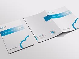 一希品牌设计-海城七朵云信息画册传册画册设计