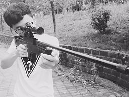 AWM狙击枪手工模型