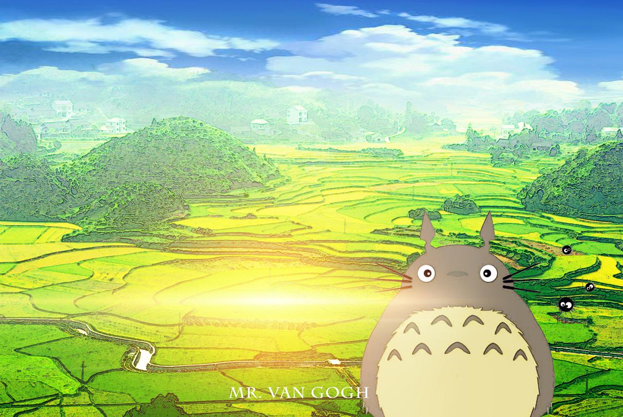 ps转漫画 关于宫崎骏动漫的记忆图片