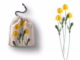 原创小帆布拉伸袋子设计