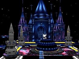 星空城堡3D模型