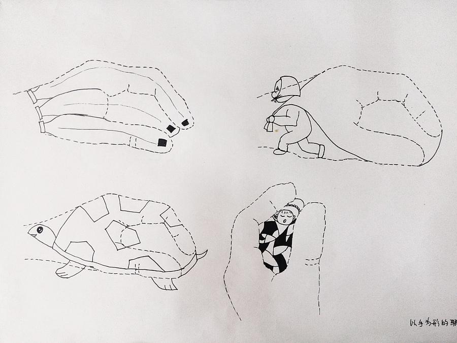 图形创意联想|图形/图案|平面|情绪妞图片