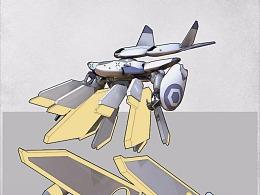 F-232A量产型宙间战机