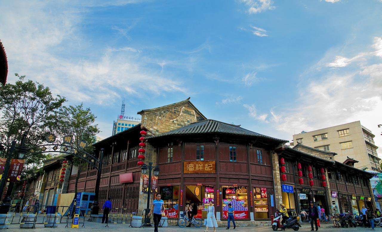 商业街图片_昆明南屏街|摄影|风光|小影之家 - 原创作品 - 站酷 (ZCOOL)