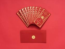 2018年新年红包及日历设计