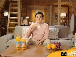 黄磊 x 美汁源果粒橙 x 小欢喜创意中插