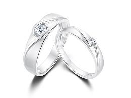 珠宝修图(铂金戒指)