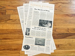 报纸设计 | Imperial Journal