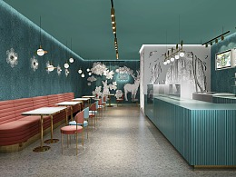 哈喽设计 | 莓兽饮料空间升级设计